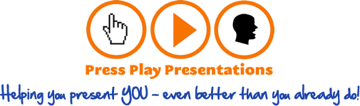 Press Play Presentations logo